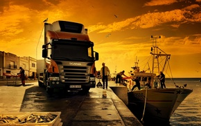 Картинка Scania, 4x2, p230