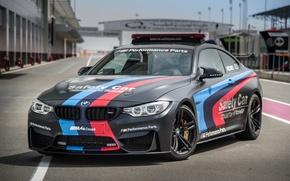 Картинка бмв, BMW, MotoGP, Coupe, Safety Car, F82, 2015