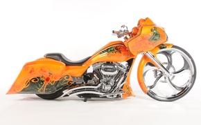 Картинка дизайн, фон, мотоцикл, форма, аэрография, байк