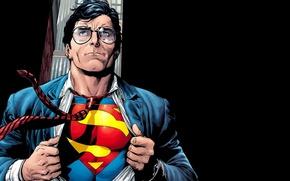 Картинка fantasy, art, men, comics, Superman, superhero, costume, fantasy art, DC Comics, Clark Kent, artworks