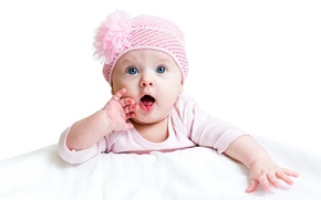 Картинка ребенок, глазки, девочка, малышка, шапочка, eyes, маленькая, child, little girl, Infants