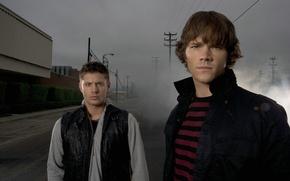 Обои актер, Supernatural, Jensen Ackles, Сверхъестественное, сэм, дин, Дженсен Эклс, jared padalecki, джаред падалеки, братья винчестеры, ...