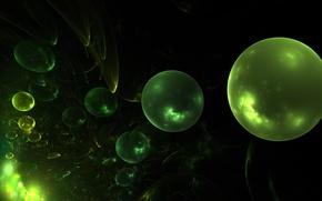 Картинка шарики, абстракция, шары