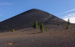 Картинка небо, природа, Lassen Volcanic National Park