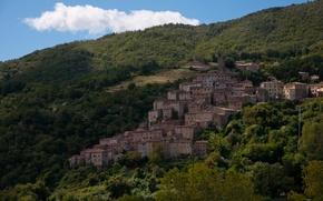 Картинка Дома, Италия, Italy, Тоскана, Italia, Toscana, Tuscany