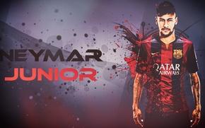Картинка футбол, wallpaper, барселона, barcelona, neymar, неймар, junior, gfx, hshamsi, hshamsi.deviantart.com