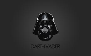 Картинка star wars, darth vader, minimalism, dms