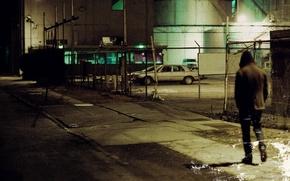 Обои we were exploding anyway, одиночество, ночь, город, 65daysofstatic