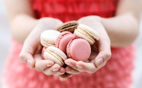 Картинка фон, руки, печенье