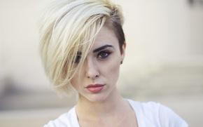 Картинка Блондинка, зеленые глаза, Alysha Nett