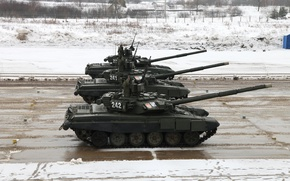 Картинка танк, Россия, бронетехника, военная техника, Т-90А, УВЗ