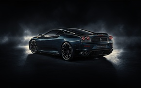 Картинка F430, Ferrari, rear, by DuronDesign, Midnight Black