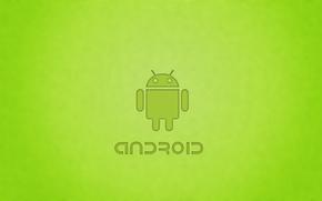 Обои робот, андройд, android