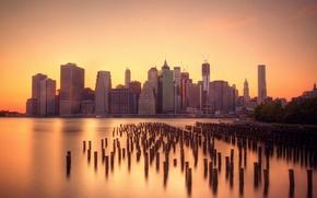 Картинка город, Brooklyn, NYC