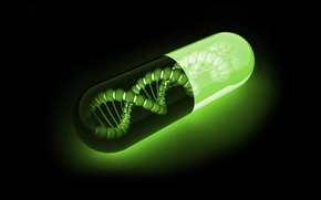 Картинка ДНК, ФОН, МОЛЕКУЛЫ, ЦЕПОЧКА, КАПСУЛА