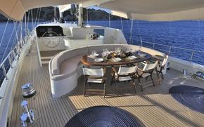 Картинка дизайн, стиль, интерьер, яхта, палуба, люкс, кокпит, luxury yacht