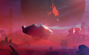 Обои star wars, арт, Звёздные войны: Пробуждение силы, Star Destroyer, imperial cruiser, Force awakens, Episode VII, ...