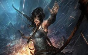 Картинка Raider, Lara, Tomb, Croft