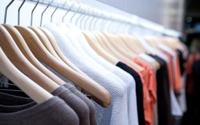 Картинка colors, clothing, fabrics, clothes hangers
