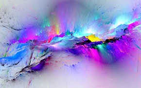 Обои colors, краски, фон, abstract, background, брызги