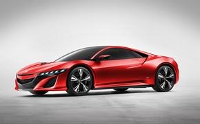 Картинка Concept, фон, суперкар, акура, Acura, NSX