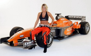 Картинка car, Gemma Atkinson, sport, formula one