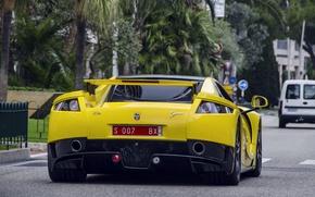 Картинка supercar, yellow, GTA, Spano, Spania