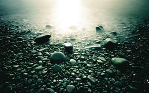 Картинка макро, свет, камни, фото