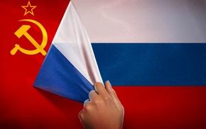 Картинка Россия, СССР, красный