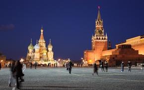 Обои Москва, Россия, Красная площадь