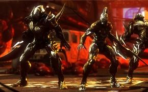Картинка crossover, prototype 2, dark sector, alex mercer, nemesis, warframe