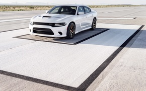 Картинка srt, dodge, charger, hellcat, 2015