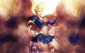 Картинка art, dc universe, DC Comics, Supergirl, Kara Zor-El