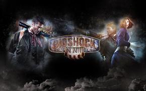 Картинка Bioshock infinite, Элизабет, Букер Девитт