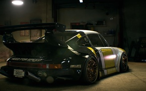 Картинка Porsche, nfs, 2015, нфс, 930, Need for Speed 2015, this autumn, RWB Porsche Stella Artois, …