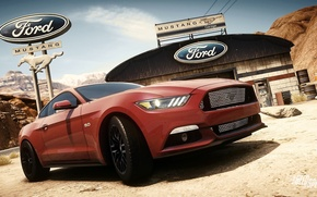 Картинка Ford, mustang, Need for Speed, nfs, 2013, Rivals, 2015, NFSR, нфс
