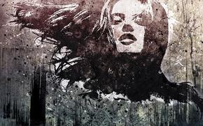 Картинка vhm-alex, креатив, рисунок, девушка, силуэт, арт
