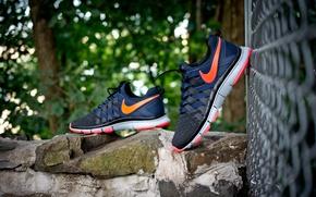 Картинка кроссовки, Nike, Free Trainer 5.0 iD, Urban Solar Red