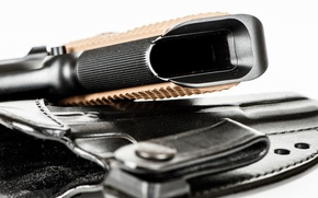 Картинка макро, пистолет, оружие
