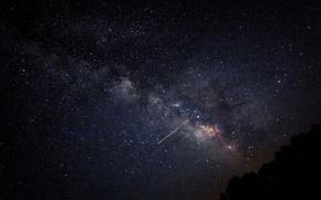 Картинка космос, звезды, пространство, млечный путь