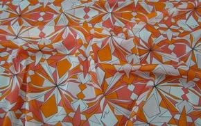 Картинка узор, текстура, ткань, штора, складки, шёлк, текстиль