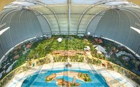Картинка Германия, аквапарк, Tropical Islands Resort