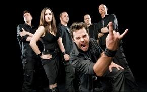 Картинка Deutschland, Van Canto, Bastian Emig, Stefan Schmidt, A Capella Hero Metal, Inga Scharf, Ross Thompson, …