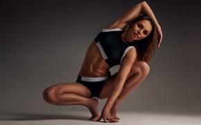 Картинка woman, pose, workout, yoga, sportswear, elongation
