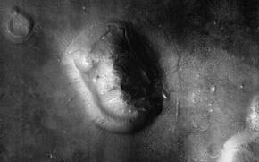 Картинка поверхность, лицо, Марс, Кидония