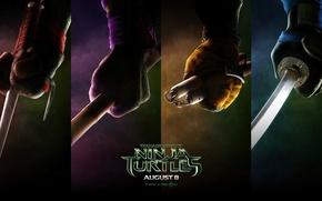 Картинка Teenage, Ninja, Turtles, Mutant, 2014