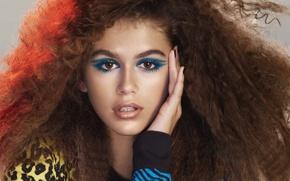 Картинка model, makeup, Kaia Gerber, Marc Jacobs beauty spring