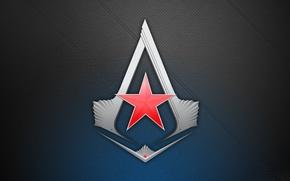 Картинка знак, игра, звезда, логотип, game, красная, assassin's creed, кредо убийцы 3, assassins creed 3, red …