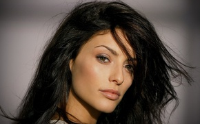 Картинка взгляд, макияж, актриса, брюнетка, hair, Erica Cerra, Эрика Серра