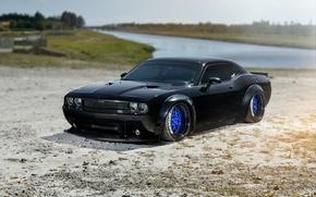Картинка Dodge, Challenger, SRT, Wheels, Strasse, Liberty, Walk